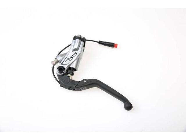 Magura HS33e Fermeture de levier de frein, silver/black